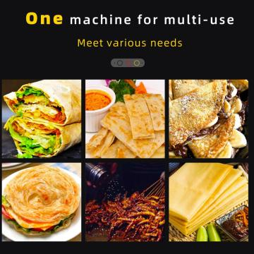 electric pancake crepe machine with CE