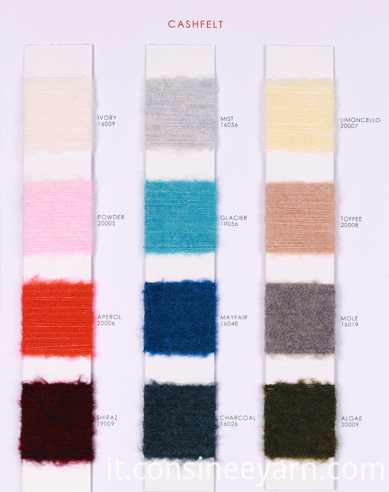 cashmere yarn for knitting machines