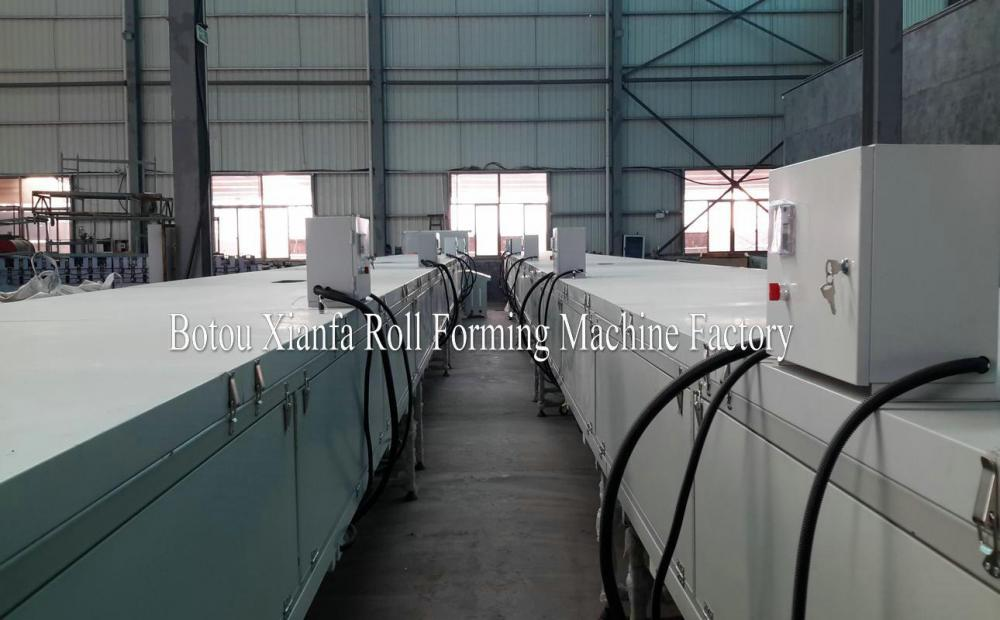 Standard Archaized Colored Vermiculite Tile Forming Machine