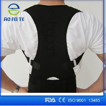 Shoulder support magnetic posture corrector brace belt