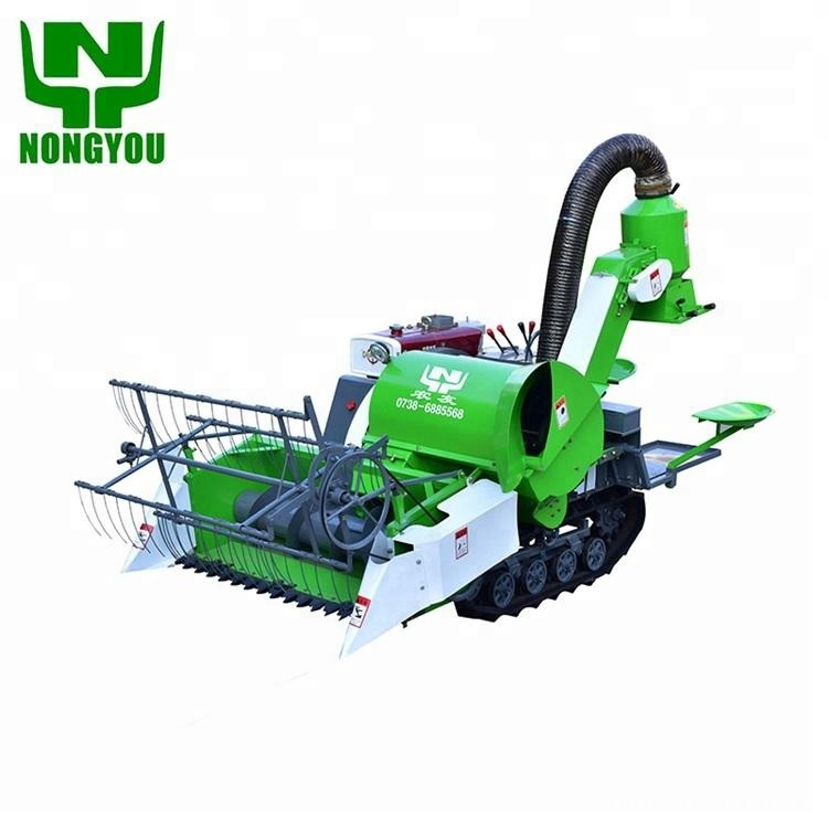mini harvest machine rice combine harvester for sale