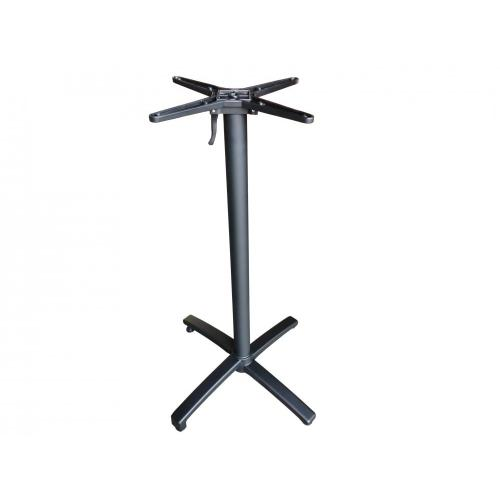 cast aluminum folding high bar table legs