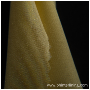 Polyester  woven fusible interlining for garment