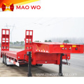 Sincere Service Extendable 100 Ton Low Bed Trailer