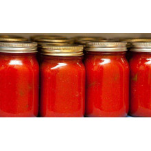 320g Organic Glass Bottle Tomato Paste