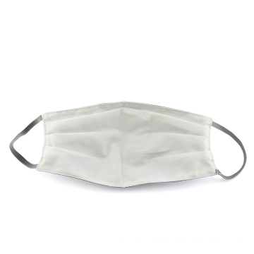 Cotton fabric face mask With Adjustable Ear Loops