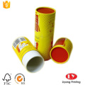 Custom round paper cosmetic tube box packaging