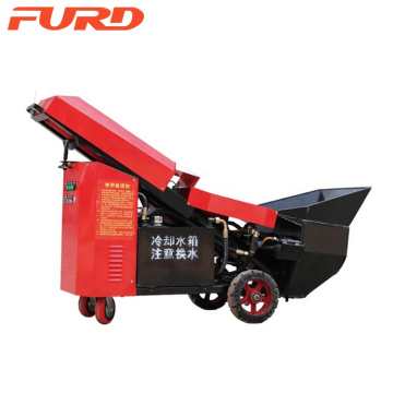 China Mini Cement Concrete Pump for building Pouring