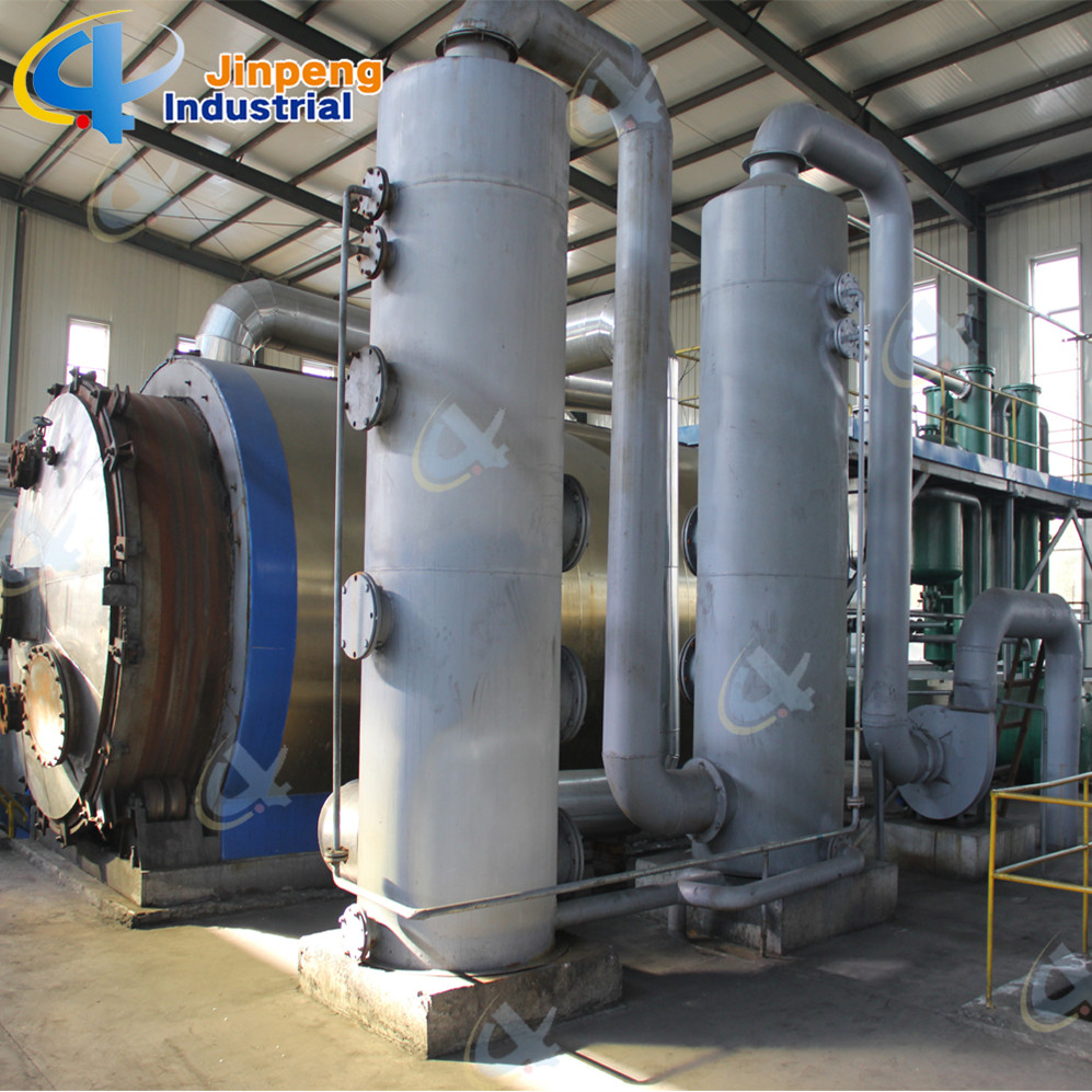 Full Open Door Design Waste Tyre Pyrolysis Plant