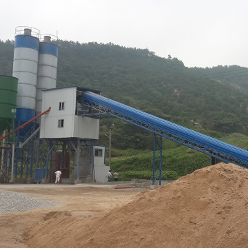 Fixed 90m3 Precast Small Concrete Batching Plant