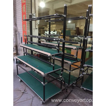 Lean Pipe Frame Assembly Working Table