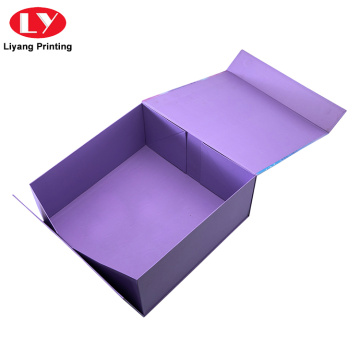 Magnetic Closure Collapsible Paper Foldable Storage Gift Box
