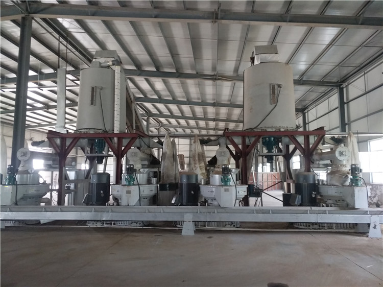 Sawdust wood pellet machine