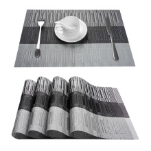 YokiSTG PVC Placemat For Table Pad Drink Wine Cup Coasters Washable Placemat Dining Tableware Mat Kitchen Waterproof Set of 6