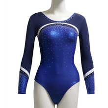 Custom Royal Blue Leotards For Gymnastics