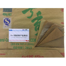 4+1 layer Waterproof cement packaging bag