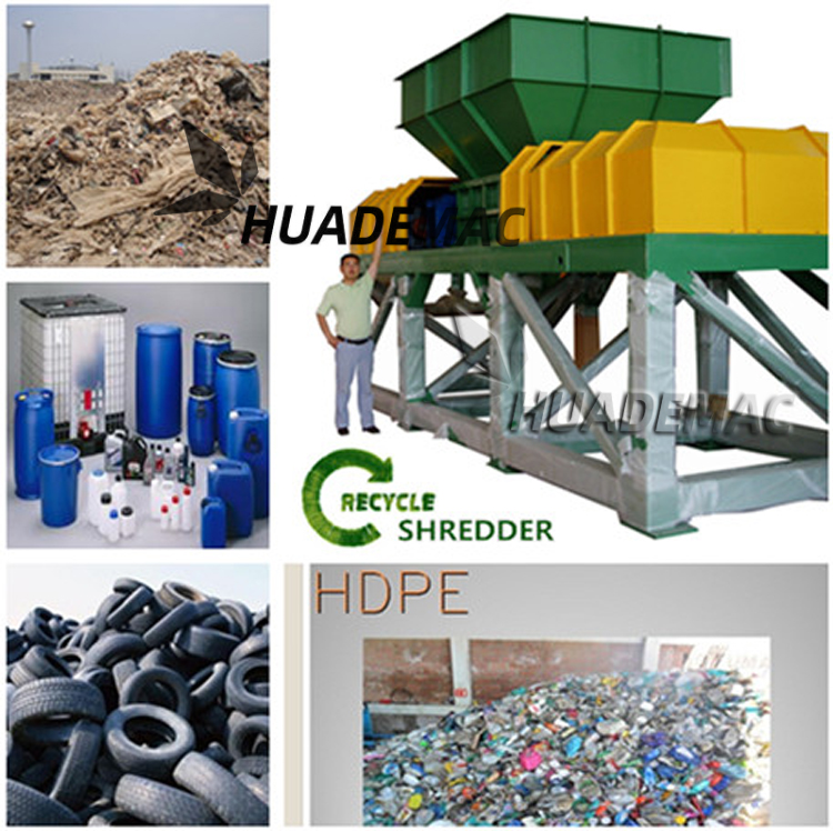 2 Shafte Shredder 750