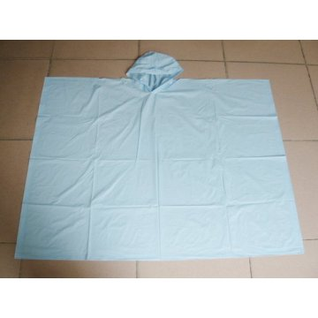 wholesale PE one time use rain poncho