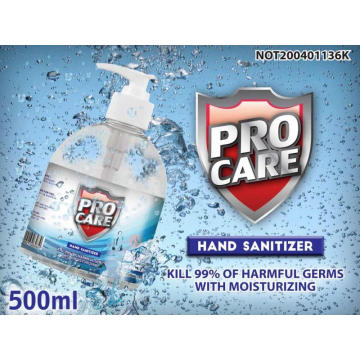 500ml  hand sanitizer alcohol spray