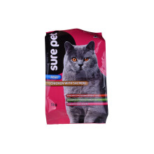 Recycled Plastic Sealable Zip Bag Flexible Petfood Packing