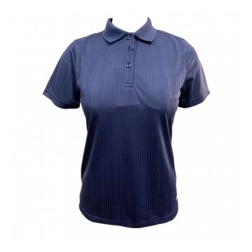 Ladies Knit Special Textured Polo
