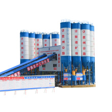 Precast stationary HZS120 advanced concrete batching plant
