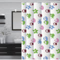 B&m Waterproof Bathroom printed Shower Curtain
