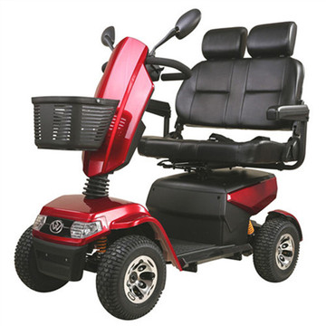 Luxury 4-wheel two-seat scooter