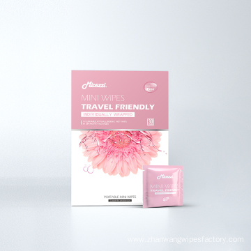 Square Box Mini Wipes