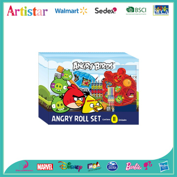 Angry Birds rolling art desk