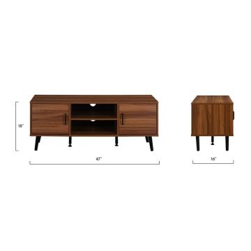 sitting room modern tv stand wood