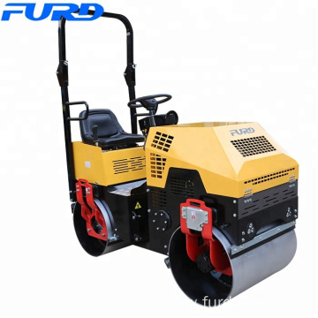 New Small Ride on Vibratory Asphalt Road Roller Price 1 ton Rollers for Sale (FYL-880)
