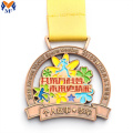 Custom running sport medals price to buy