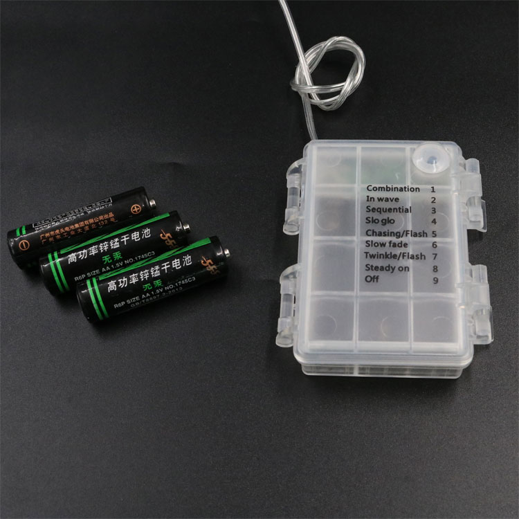 Waterproof 3AA Battery Holder