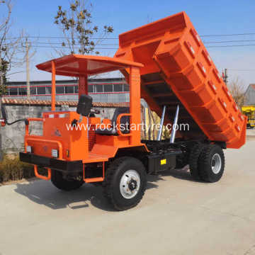 8 tons mining tipper truck for mines