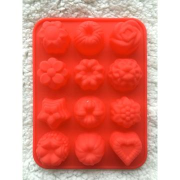 Flower Shaped Food Grade Silicone Molds