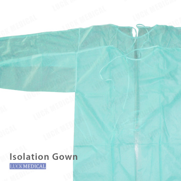 Disposable Medical SMS Non woven Isolation Gown