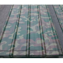 Camouflage galvanized steel sheet