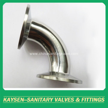 Stainless Steel Sanitary 3A 90Deg Clamp Elbow