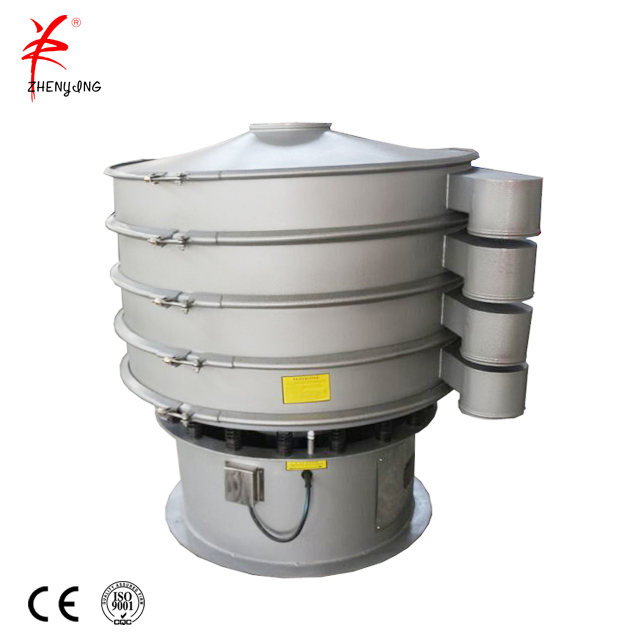 Flour vibrating sieve machine for powder