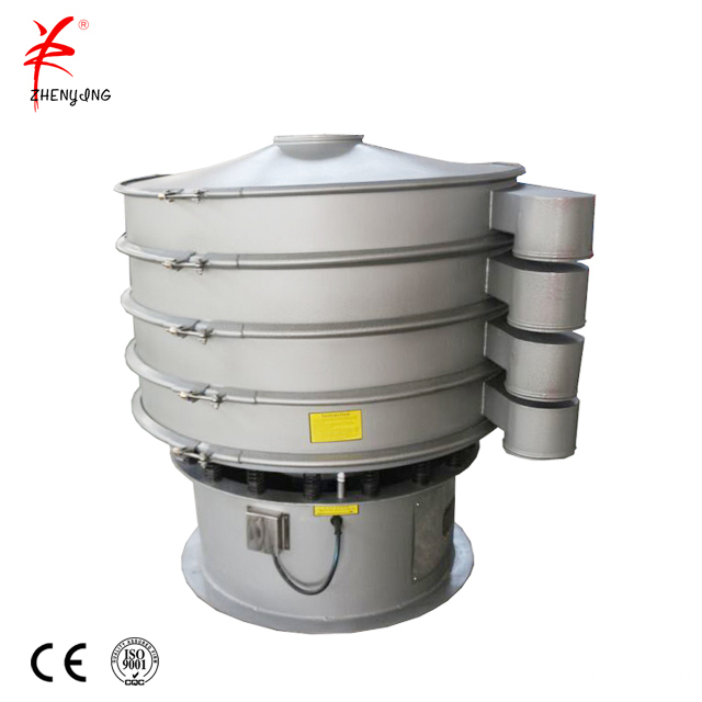 Sugar cane juice vibrating shaker sieving machine