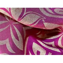metallic printing colorful fashion design fabric