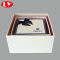 Top and bottom gift box with lid packaging