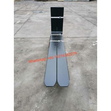 Hook type pallet fork for forklift