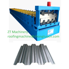 Steel floor decking sheet rolling making machine