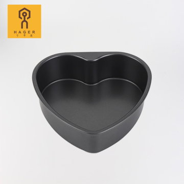 "8"" Heart Shaped Cake Pans-deep"