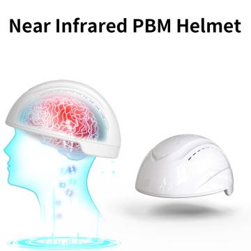Neuro light therapy gamma brainwaves photobiomodulation helmet