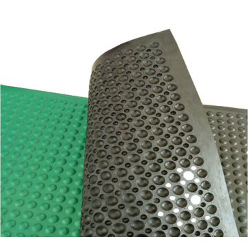 Rubber Mat Brush Scrape