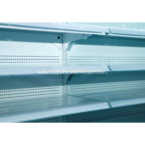 Supermarket vertical multi deck open display cooler