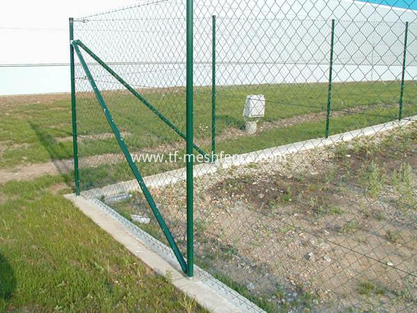 PVC coated chain link mesh